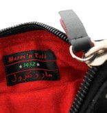 Maroc 'n Roll Portemonnee in kalfsleer - Zwart