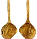 Chabi Chic Set van slabestek XL uit natuurlijk olijfhout