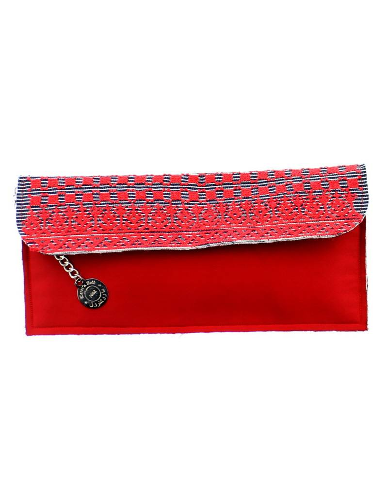 Maroc 'n Roll embroidered clutch