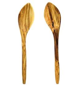 Chabi Chic Set van 2 lepels uit olijfhout