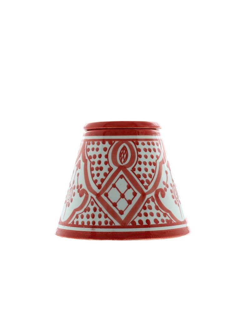 Asbak uit ceramiek rood en wit safi rue du maroc - Keuken in rood en wit ...