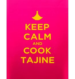 "Chabi Chic Poster - ""Keep calm and cook tajine"""