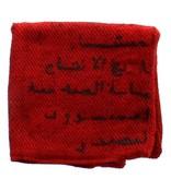 Marrakshi Life Kussen uit jute - Rood