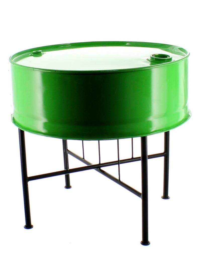 Bladi Design Table basse recyclée faite main - Vert