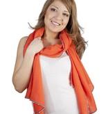 Léo Atlante scarf apricot