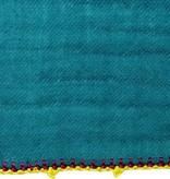 Léo Atlante scarf peacock