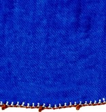 Léo Atlante king's blue scarf