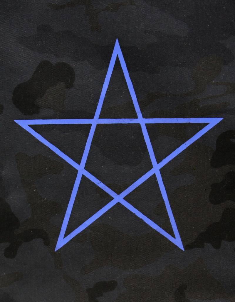 Rock da Kasbah Cabas étoile marocaine - Noir camo