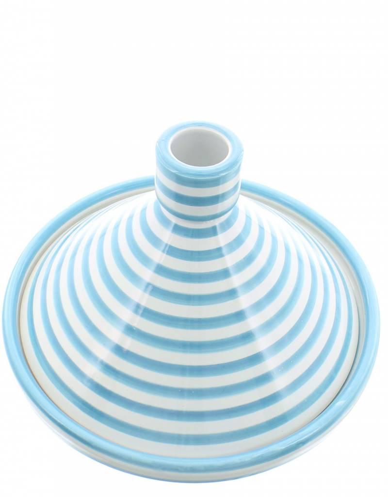 Chabi Chic Tajine motif zèbre - Turquoise