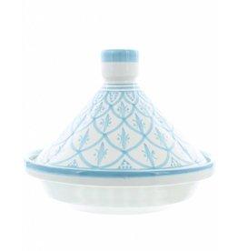 Chabi Chic Tajine uit ceramiek - Turquoise en wit Safi