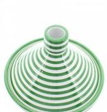 Chabi Chic Tajine motif zèbre - Vert