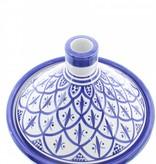Chabi Chic Tajine uit ceramiek - Blauw en wit Safi