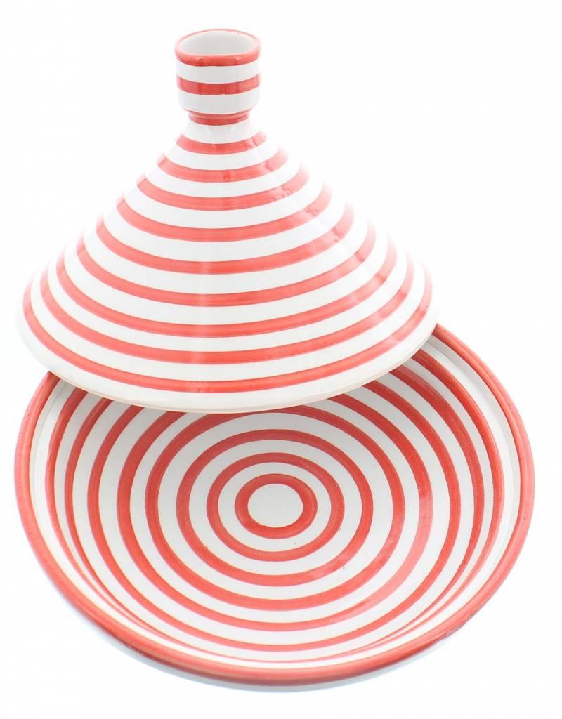 Chabi Chic Tagine Zebra Style - Red