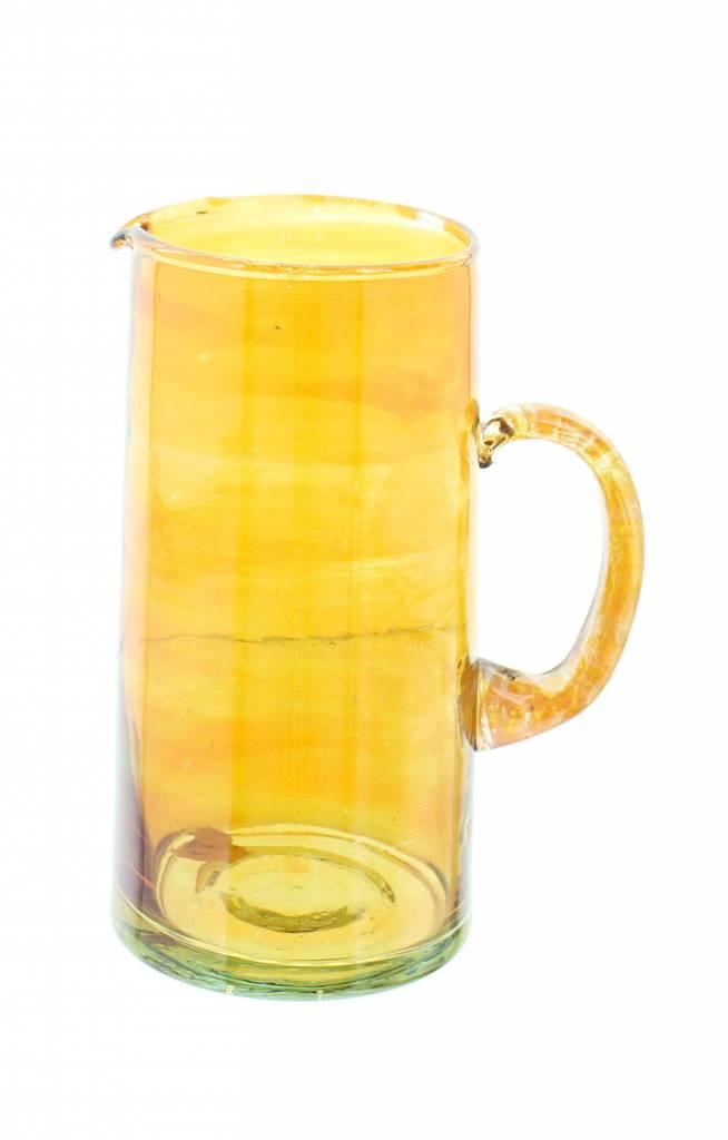 Verre Beldi Handgeblazen karaf 1L - Oranje