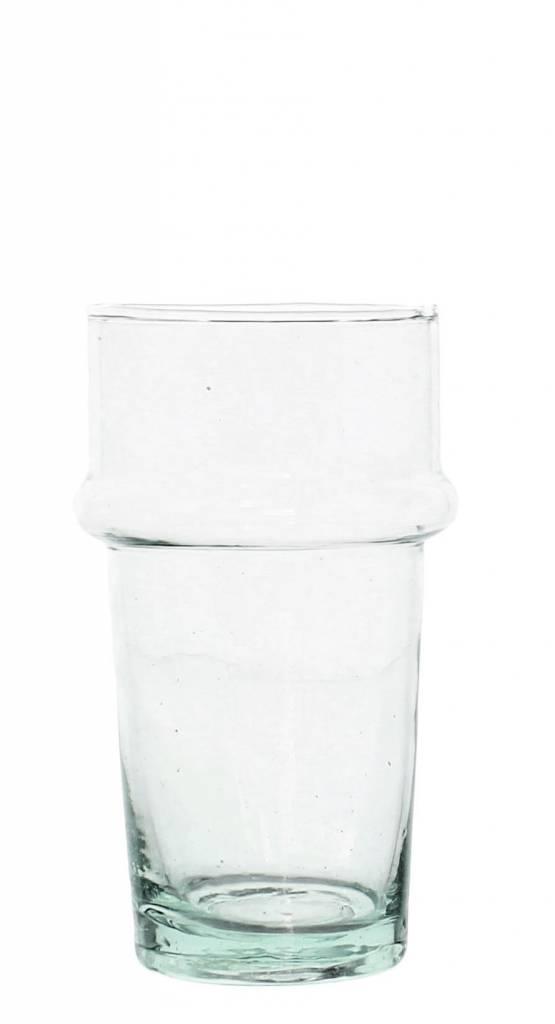 Verre Beldi mouthblown drinking glass clear 20cl