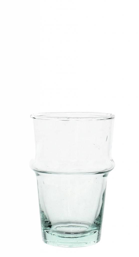 Verre Beldi Handgeblazen glas - Transparant