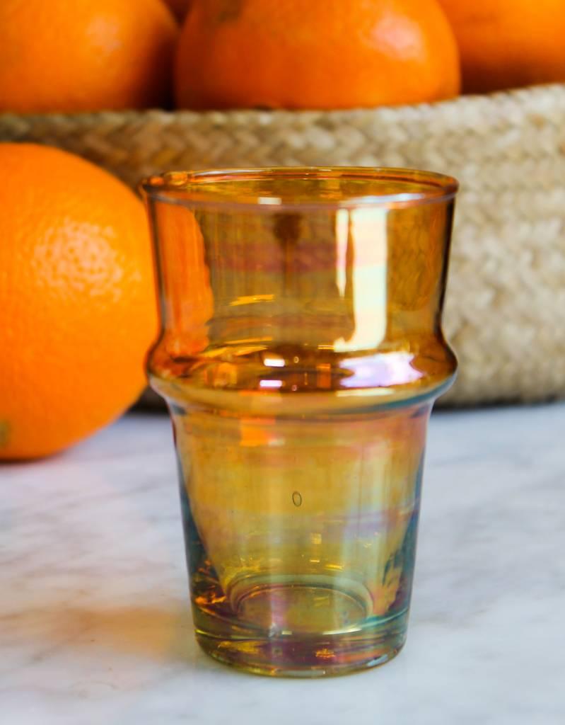 Verre Beldi Verre soufflé - Orange