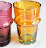 Verre Beldi handgeblazen glas roze