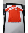 STANDARD : Polo in polyester rood