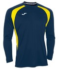 Joma T-shirt Champion III - Couleur : Marine - Jaune