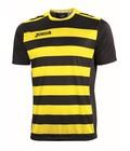 Joma T-shirt Europa II - Kleur : Zwart - Geel