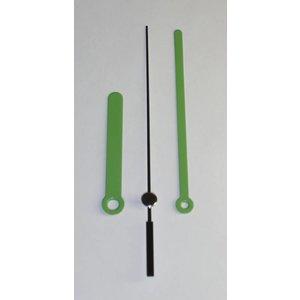 Uhrzeiger Grün