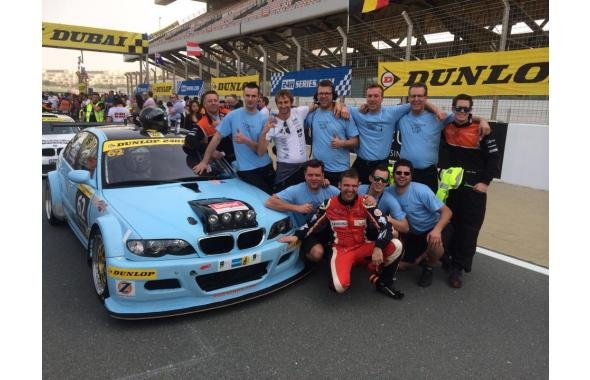 JR-Motorsport victorious in the 24hours Dubai A5 class