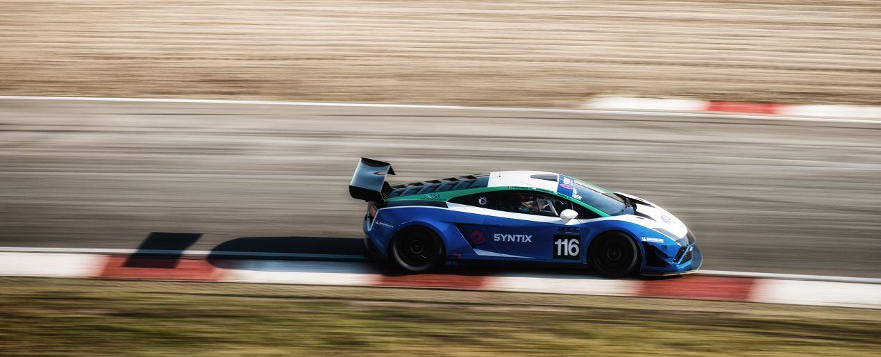 Lamborghini testen op Zandvoort