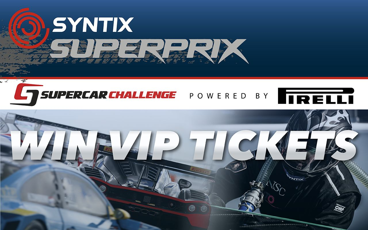 Win VIP Experience voor Syntix Superprix