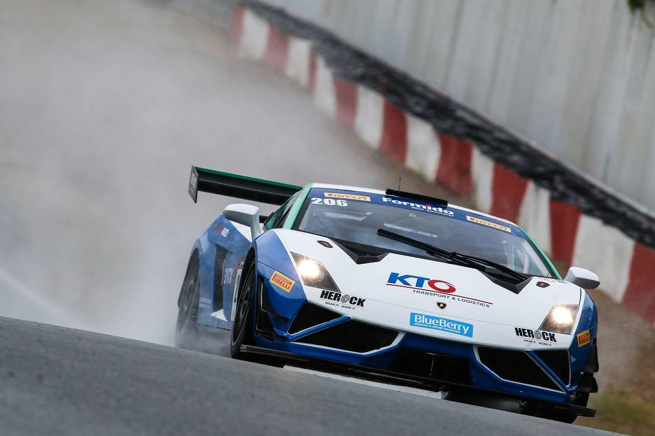 SYNTIX NSC Lamborghini at Blancpain Sprint!