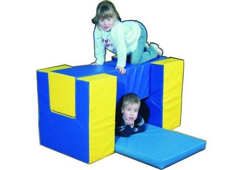 Schaumstoffelemente Sportline-Set 2, 4-teilige Bewegungsbaustelle Spielpolster