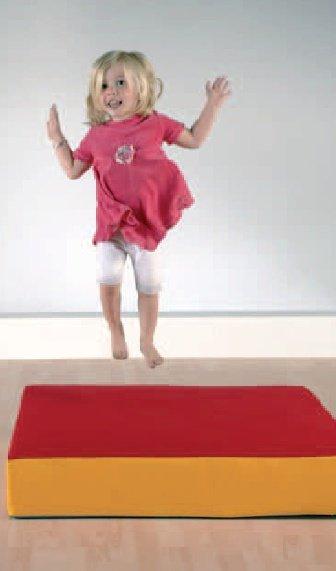 h pfkissen hipphopp sprungpolster zum turnen und h pfen elementarbereich roth e k. Black Bedroom Furniture Sets. Home Design Ideas