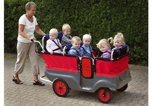 Jakobs Winther Turtle Kinderbus Basic für 6 Kinder