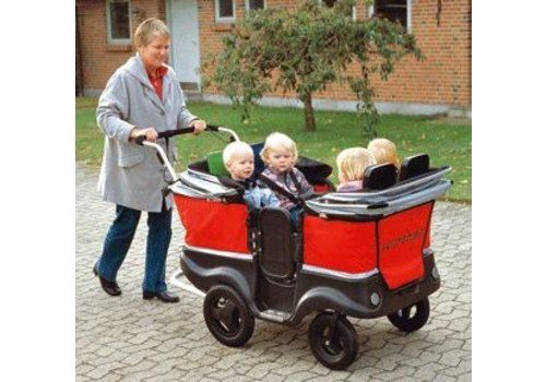 Jakobs Winther Turtle Kinderbus de Luxe für 4 Kinder