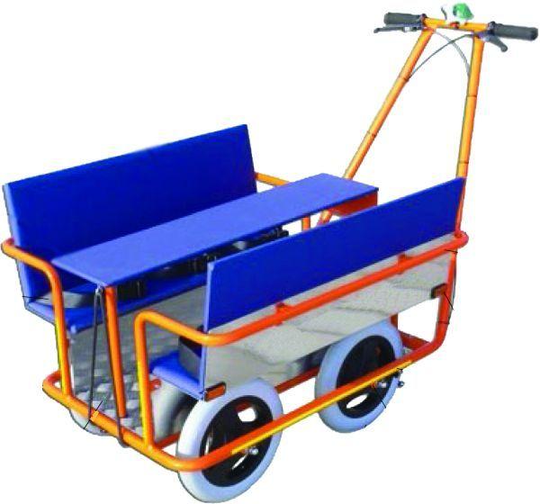 krippenwagen klassik 6 sitzer elementarbereich roth e k. Black Bedroom Furniture Sets. Home Design Ideas