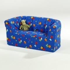 hort zweisitzer sofa bxhxt 140 x 60 x 60 cm sitzh he 37 cm elementarbereich roth e k. Black Bedroom Furniture Sets. Home Design Ideas