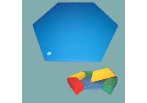 Weichelt Sechseck-Bodenmatte für Trapezelemente