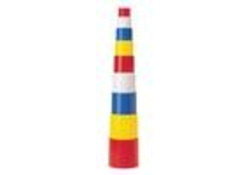 Jakobs Baubecher  9 Stck, 4-farbig ohne Motiv, im Netz
