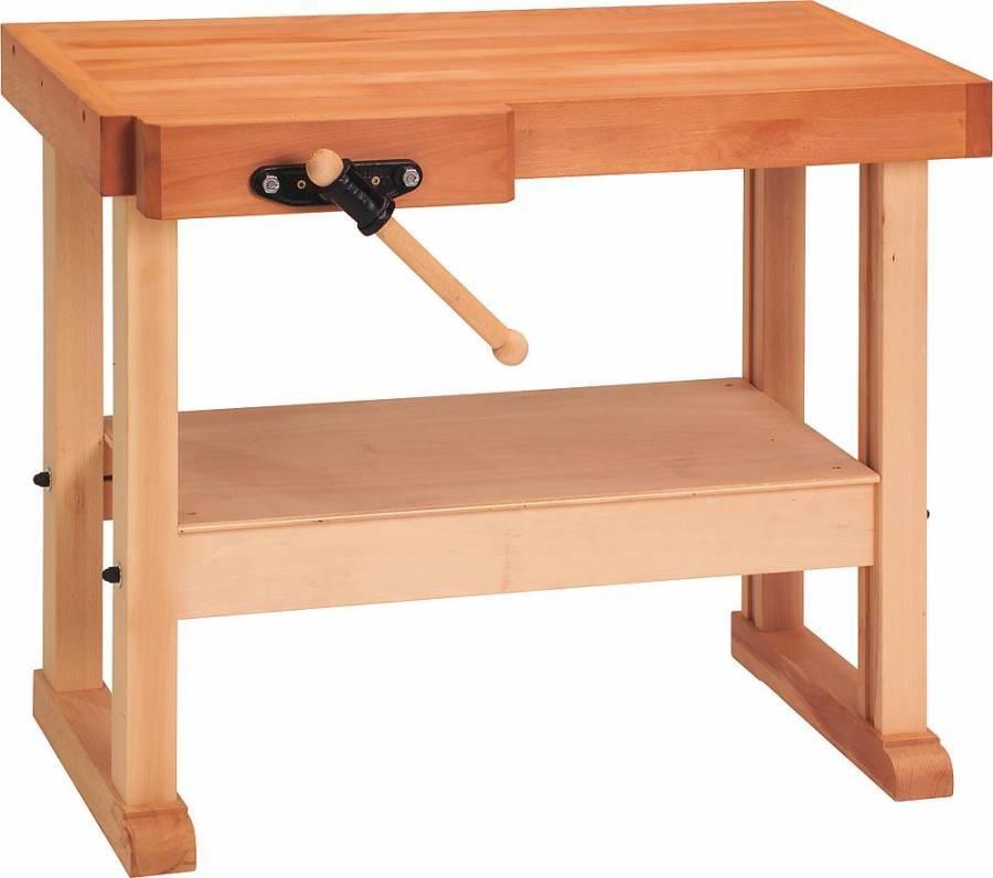 kinder werkbank 101x52x80 cm lxbxh elementarbereich roth e k. Black Bedroom Furniture Sets. Home Design Ideas