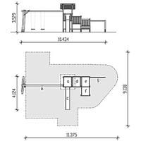 spielturm ph51k 006 douglasie l rche elementarbereich roth e k. Black Bedroom Furniture Sets. Home Design Ideas