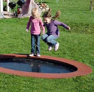 trampolin saturnus oval elementarbereich roth e k. Black Bedroom Furniture Sets. Home Design Ideas