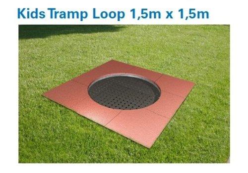 Kids Tramp Playground Loop rund - Eurotramp Trampolin