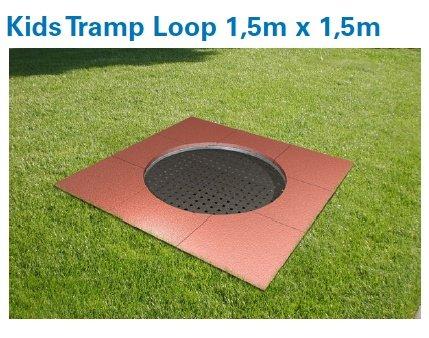 kids tramp playground loop rund eurotramp trampolin elementarbereich roth e k. Black Bedroom Furniture Sets. Home Design Ideas