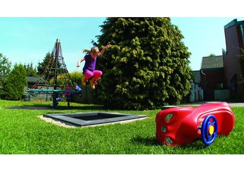 Kids Tramp Playground eckig - Eurotramp Trampolin