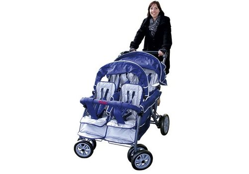 Rabo Kindersportwagen Krippenwagen 4 - Sitzer
