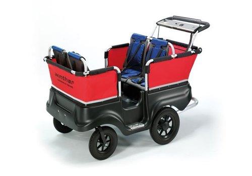 Jakobs E-Turtle Kinderbus 4 Sitzer von Winther mit Elektromotor