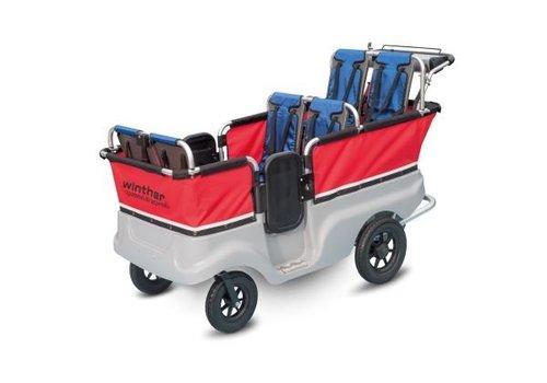 Jakobs E-Turtle Kinderbus 6-Sitzer von Winther mit Elektromotor