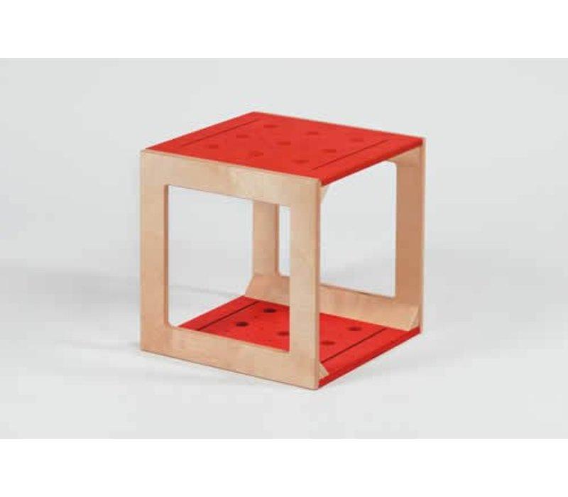w rfel mit l chern rot elementarbereich roth e k. Black Bedroom Furniture Sets. Home Design Ideas
