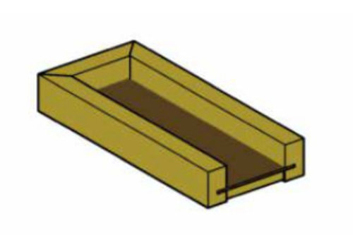 Mini-Rinne 50 cm lang PH43-029 Douglasie / Lärche