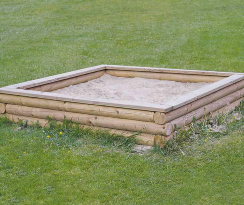 sandkasten gro mit sitzbohle eiche douglasie l rche ph33 002 4 elementarbereich roth e k. Black Bedroom Furniture Sets. Home Design Ideas